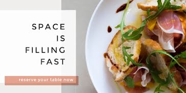 Reserve Your Table Now - Twitter Post Template