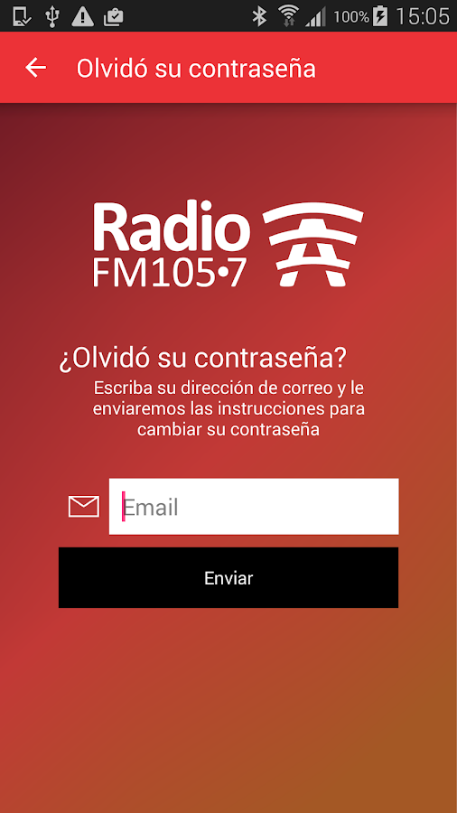 Radio A- screenshot