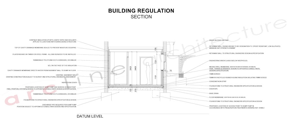 Building Regulations Services by Arcline Architects in Buckinghamshire