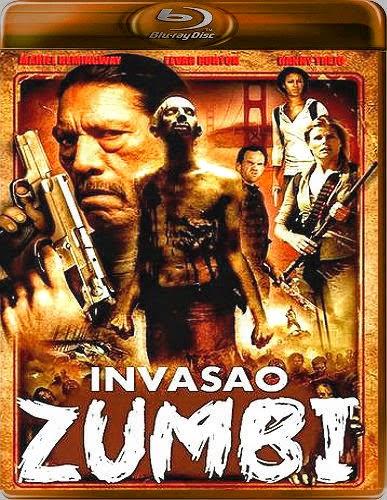 Filme Poster A Invasão Zumbi BDRip XviD Dual Audio & RMVB Dublado