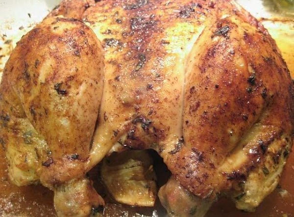 Roasted Chicken Stuffed With Lemon Recipe