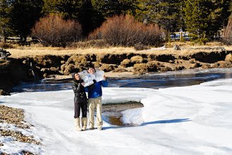 Photo: Sheets of ice formed on the river through Tuolumne meadows