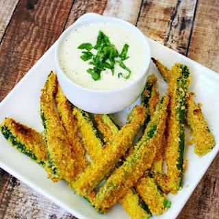 Gluten-Free Vegan Oven Baked Zucchini Fries Recipe