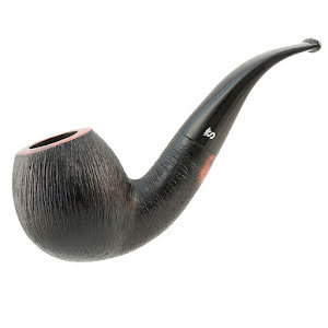 Stanwell Black Rustico 9mm 185