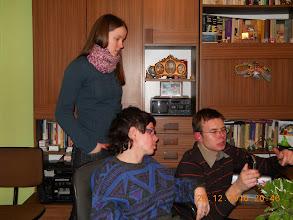 """Photo: 26 XII 2010 roku - Ewa i Karol z D.A. """" Maciejówka""""  uczą mnie robienia zdjęć"""