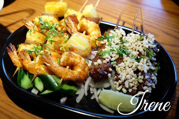 【月月Thai BBQ泰式燒烤】瓦城集團新品牌~套餐式泰式燒烤(信義遠百A13美食)