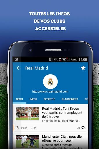 Foot Mercato : transferts, ru00e9sultats, news, live 3.6.10 screenshots 6