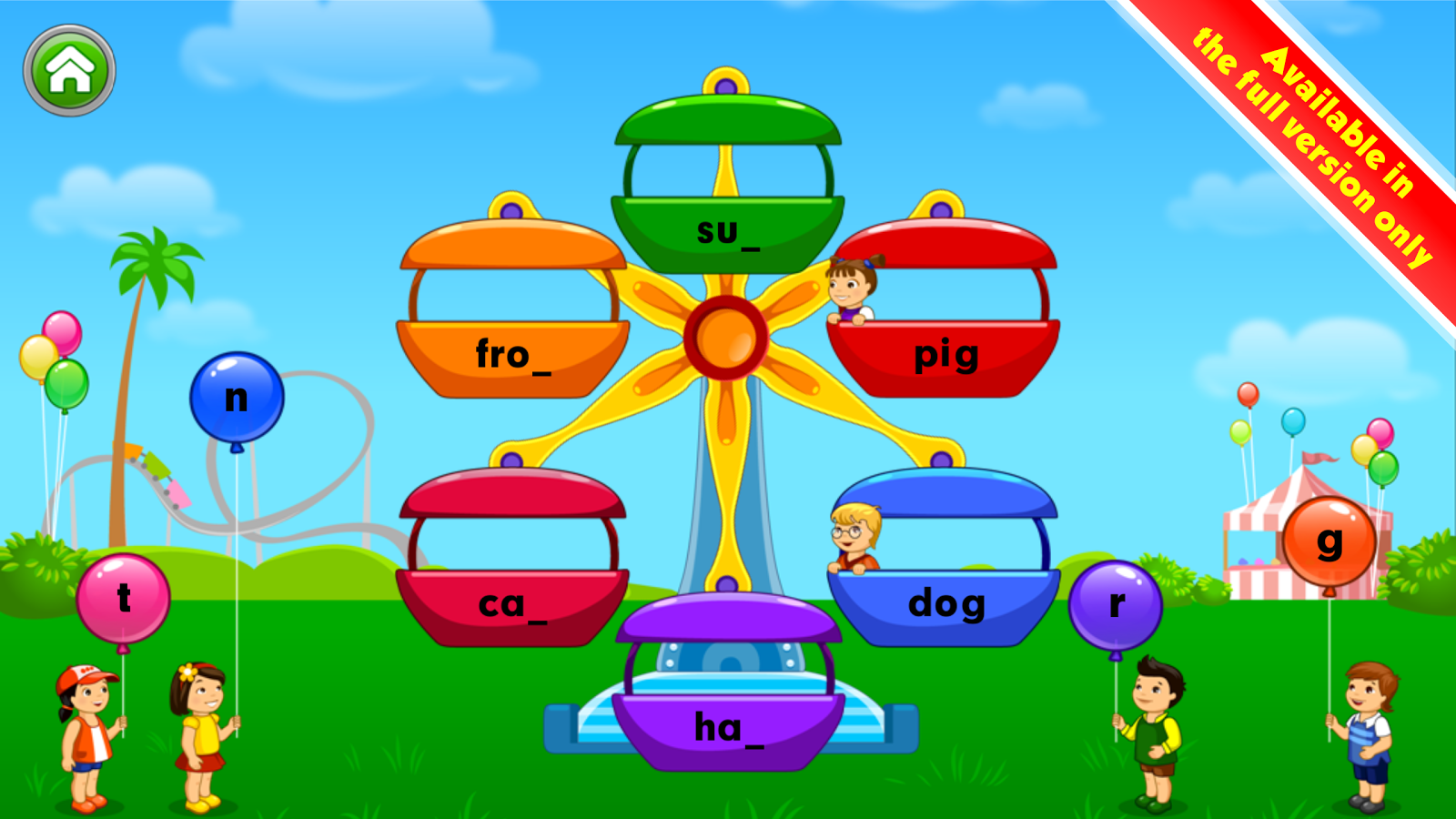 Learn Letter Sounds with Carnival Kids- screenshot