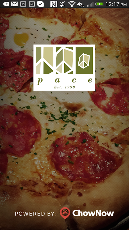Pace Restaurant- screenshot