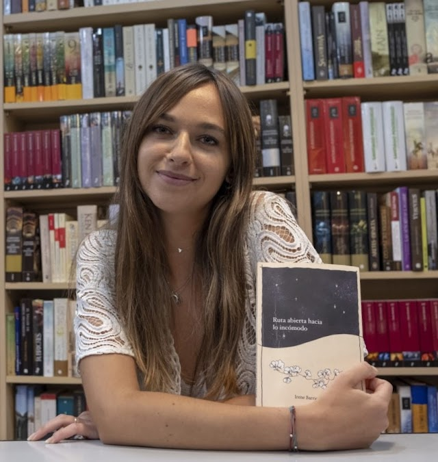 La escritora Irene Barrionuevo (Foto: Francisco Bonilla).