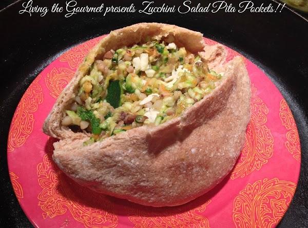 Zucchini Salad Pita Pockets Recipe