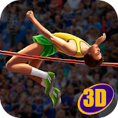 High Jump Contest Athletics