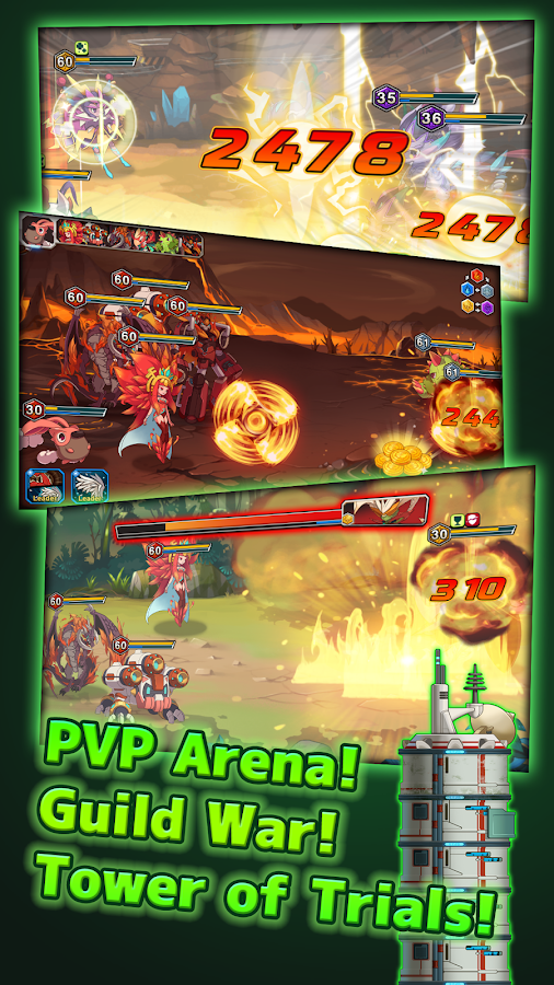 Monster Raid- screenshot
