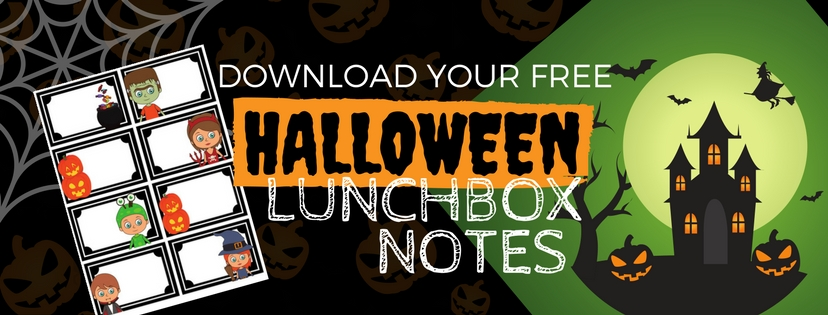 Download the Free Halloween Lunchbox Notes