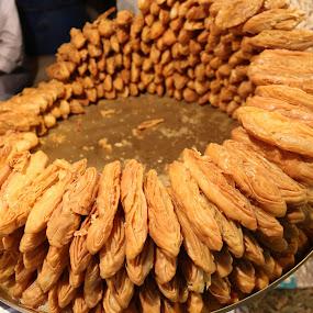 ID: Khaja Misti  by Shibalik Choudhury - Food & Drink Candy & Dessert ( bengali_sweets, food, food_lover, khaja_misti, travel, pastry, place, low_light, culture, misti,  )