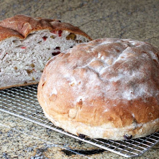 Cranberry Walnut Yeast Bread.