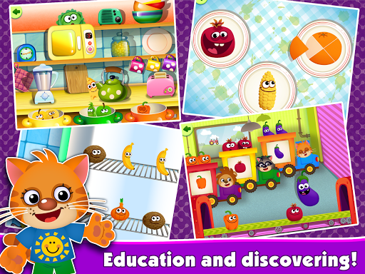 FunnyFood Kindergarten learning games for toddlers  screenshots 7