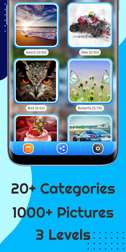 Tile Puzzle: Picture Puzzle  screenshots 1