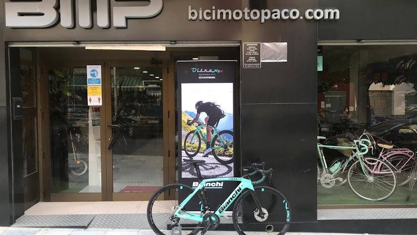 Fachada de Bici-Moto Paco.