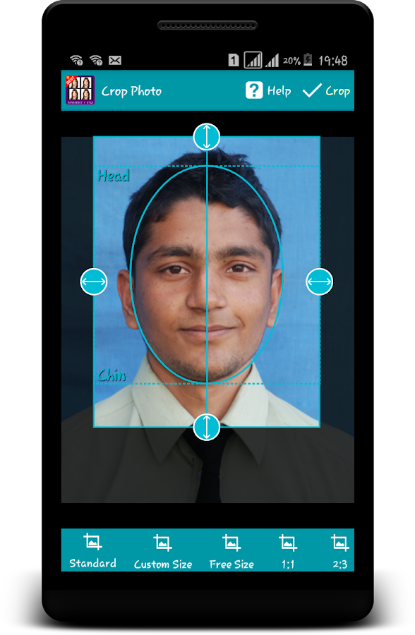 pdf standards for passport photo in spain