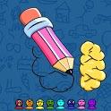 Draw Missing Skribbl icon