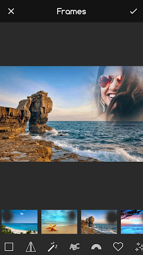 Beach Frames for Pictures 3.9 app download 1