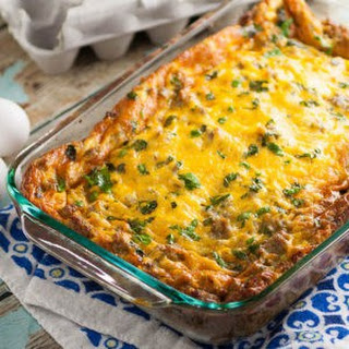 Baked Egg Cheese Casserole Recipes