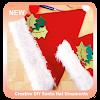 Creative DIY Santa Hat Ornaments APK