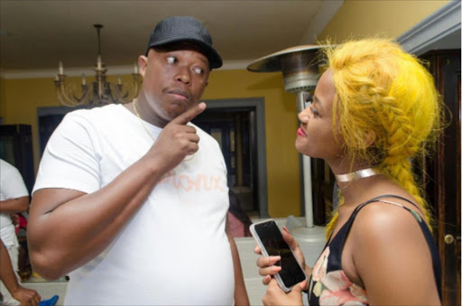 Mampintsha and Babes Wodumo are said to be back together.