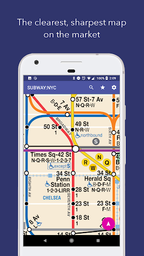SUBWAY:NYC New York's Best Offline Subway App screenshot