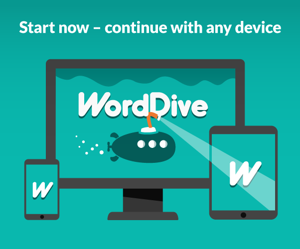 WordDive: Learn languages fast- screenshot
