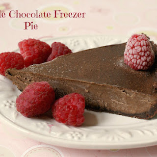 Grain Free Double Chocolate Freezer Pie (Paleo, GAPS)