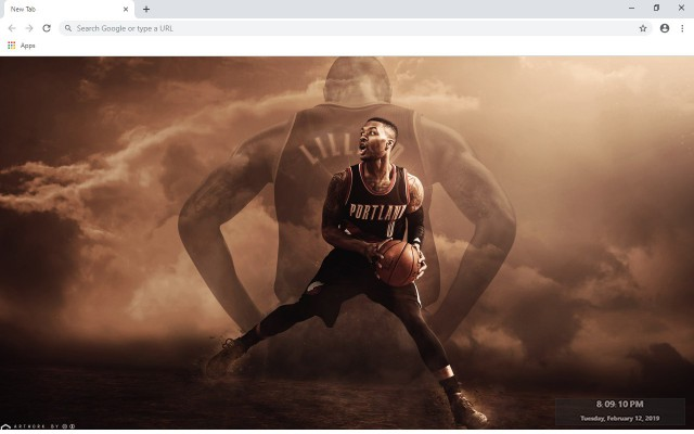 CJ McCollum New Tab & Wallpapers Collection