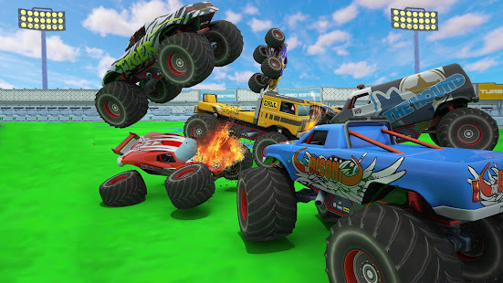 Monster Truck Demolition Derby: Crash Stunts Game for PC