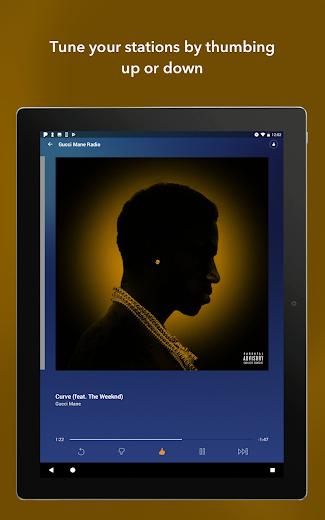 Screenshot 12 for Pandora's Android app'
