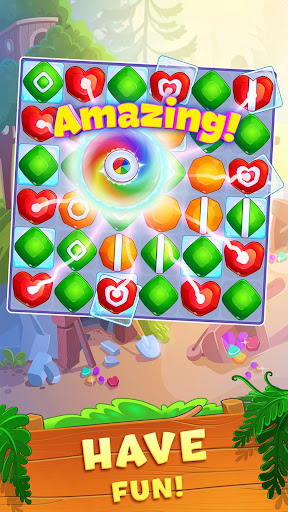 Crystal Crunch: New Match 3 Puzzle | Swap Gems 1.6.1 screenshots 2