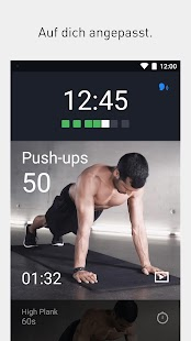 Runtastic Results Bodyweight Training ohne Geräte Screenshot