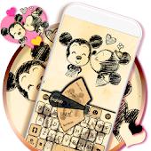 Cartoon Keyboard Theme