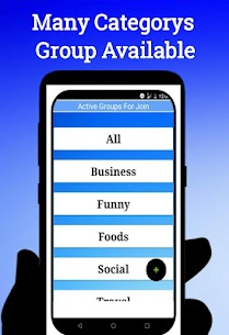 Active Groups For Join 1