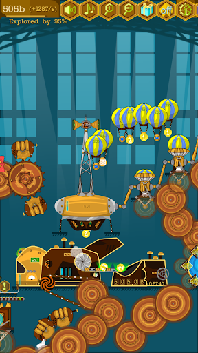 Idle Coin Factory: Incredible Steampunk Machines apkdebit screenshots 8