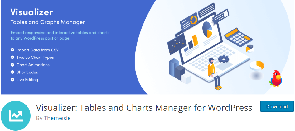 Dynamic table plugins in WordPress