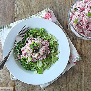 Mayo Free Cranberry Turkey Salad