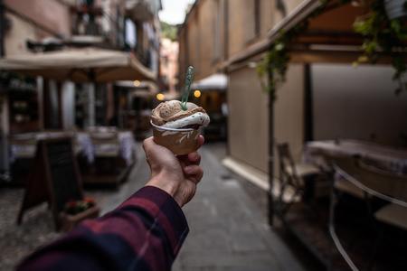 Foceno v ulících Itálie na Nikon 20mm f1,8