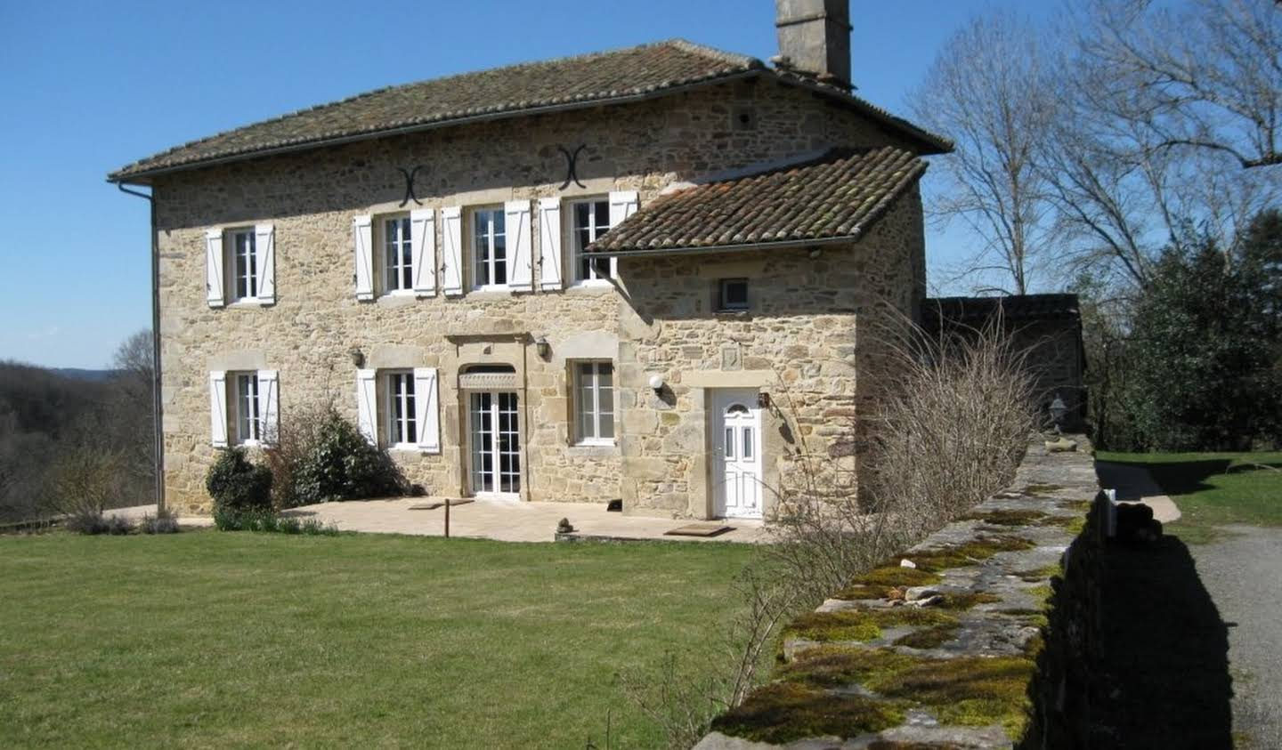 House with terrace Figeac
