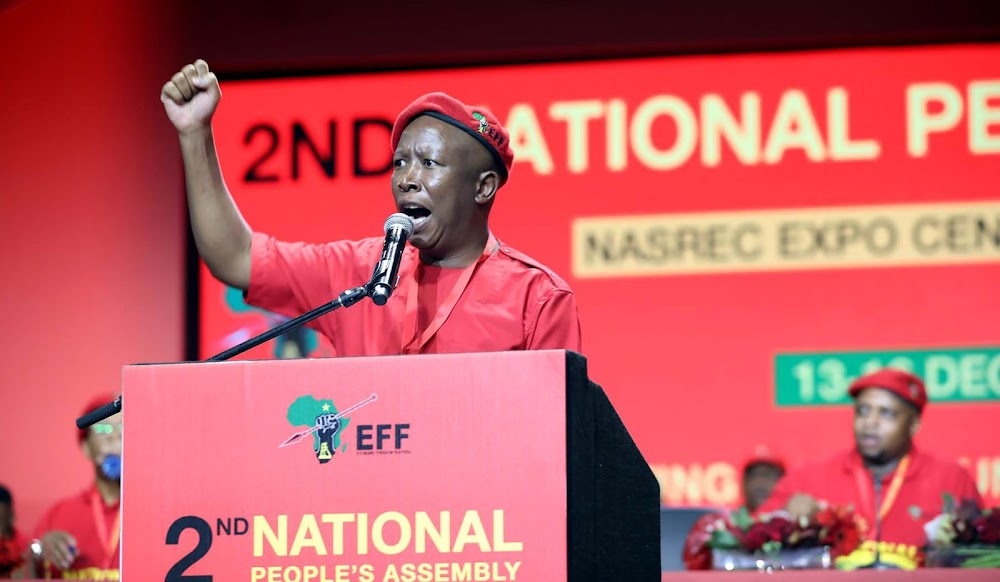Five more years as EFF boss for Julius Malema - TimesLIVE