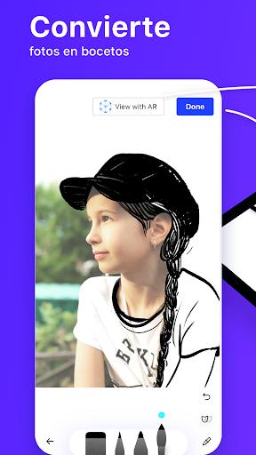 SketchAR: aprende a dibujar AR screenshot