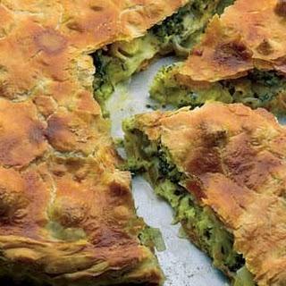 Broccoli and Gorgonzola Pie Recipe