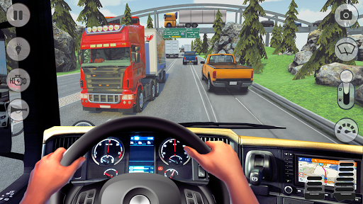 In Truck Driving: Euro Truck 2019 1.1 screenshots 1
