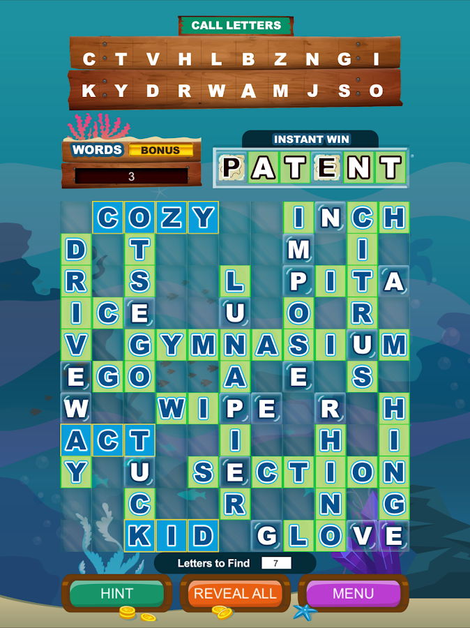 Cashword by Michigan Lottery- screenshot