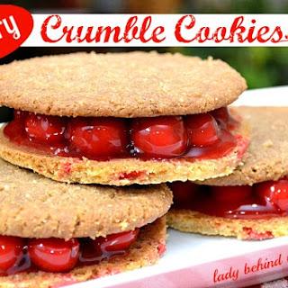 Cherry Crumble Cookies.